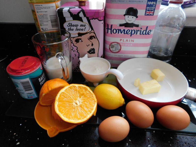 Pomarańczowo-cytrynowe faworki na kefirze