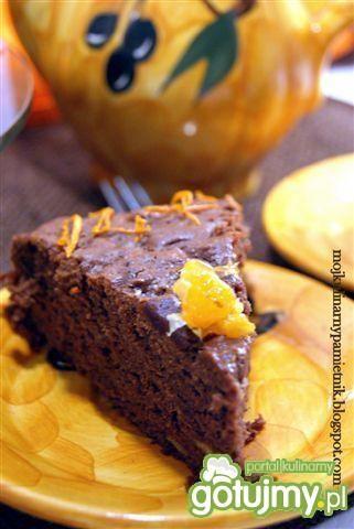 Pomarańczowo - czekoladowe ciasto