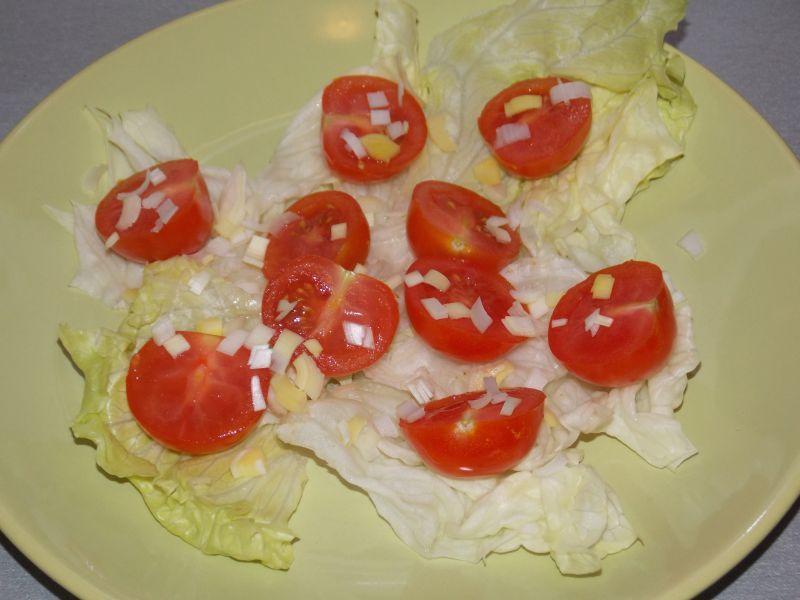 Pomidorki koktajlowe pod pierzynką