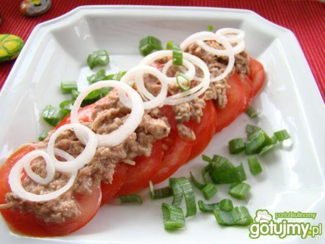 Pomidorki z tuńczykiem