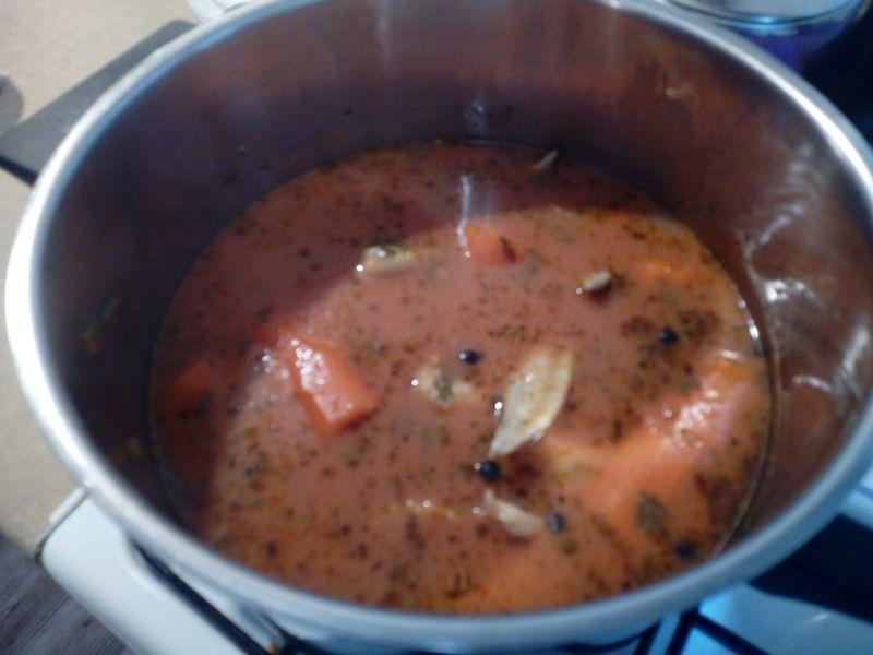 Pomidorowa na skrzydełkach