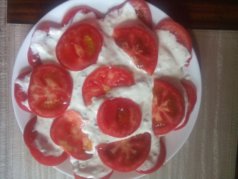 Pomidory Malinowe pod pierzynką