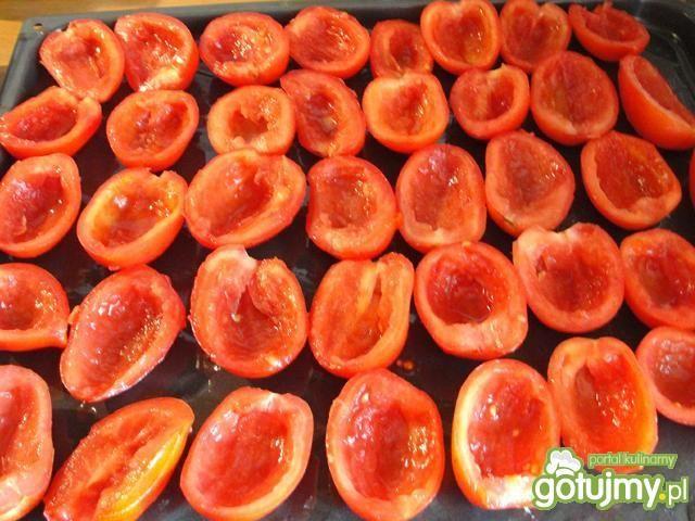 Pomidory suszone zalane  gorącym olejem