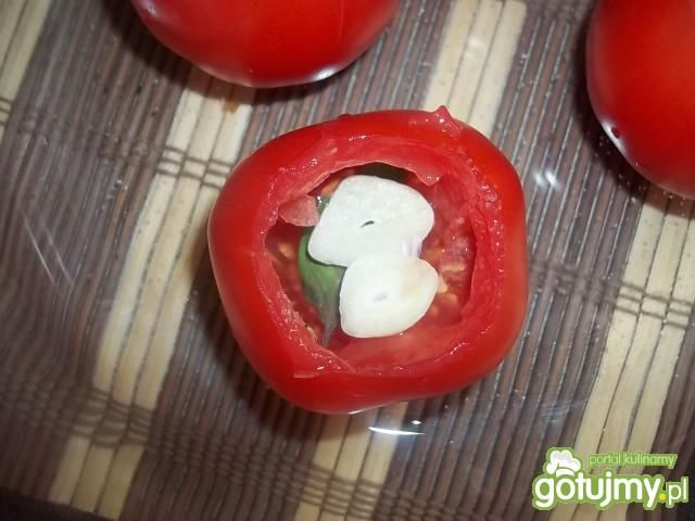 Pomidory zapiekane z mozzarellą