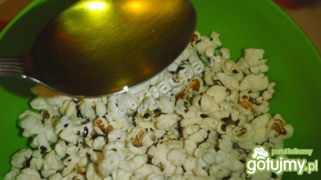 Popcorn podwójnie lniany