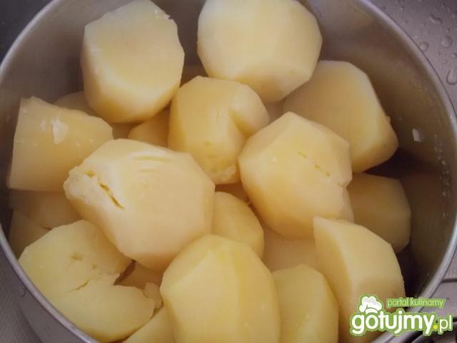Postny śledź z ziemniakami