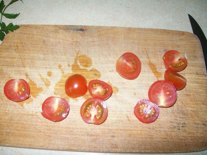 Potrawka z cukinii i pomidorów
