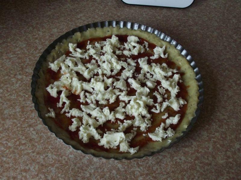 Prowansalska tarta z pomidorami