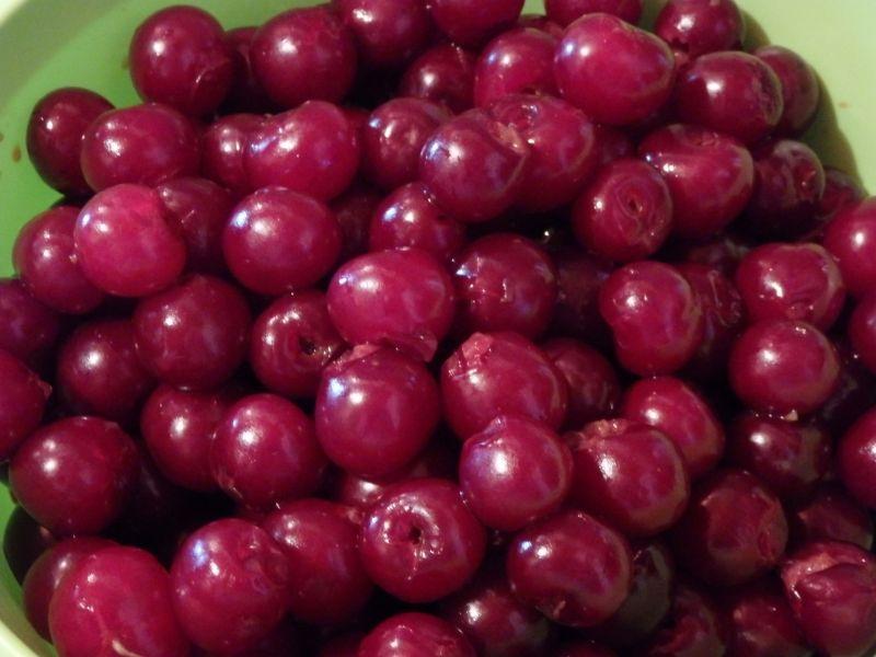 Przetwory - dżem wiśniowy