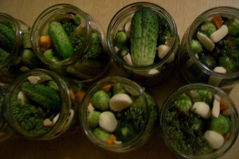 Przetwory-ogóreczki konserwowe