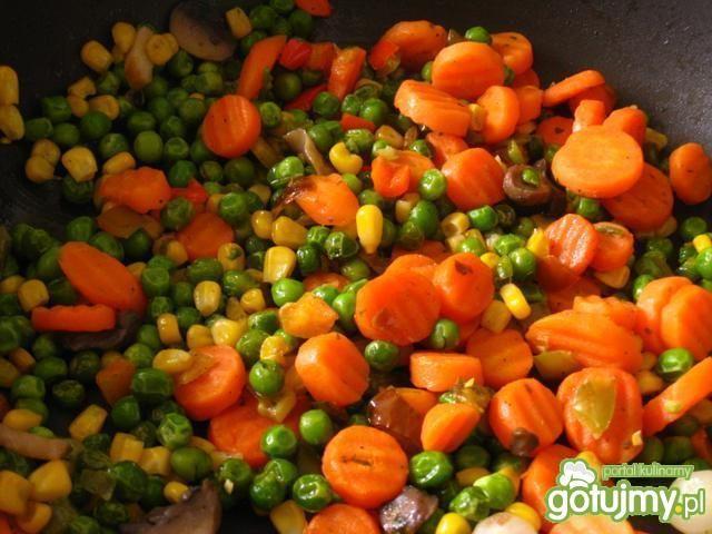 Ptaszynki czyli kopytka z warzywami