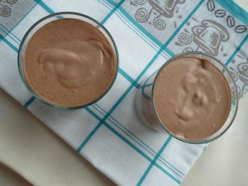 Pudding z chia z kakaowym musem
