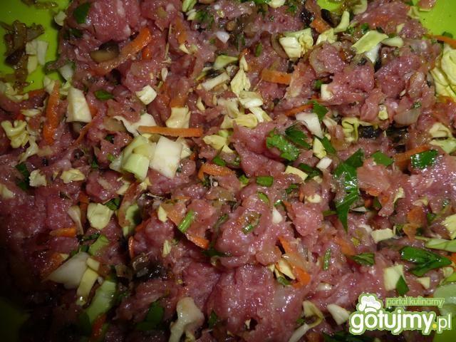 Pulpety mięsno-warzywne