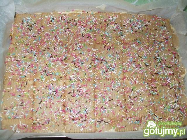 Pyszne ciasto kokosowo-makowo-orzechowe