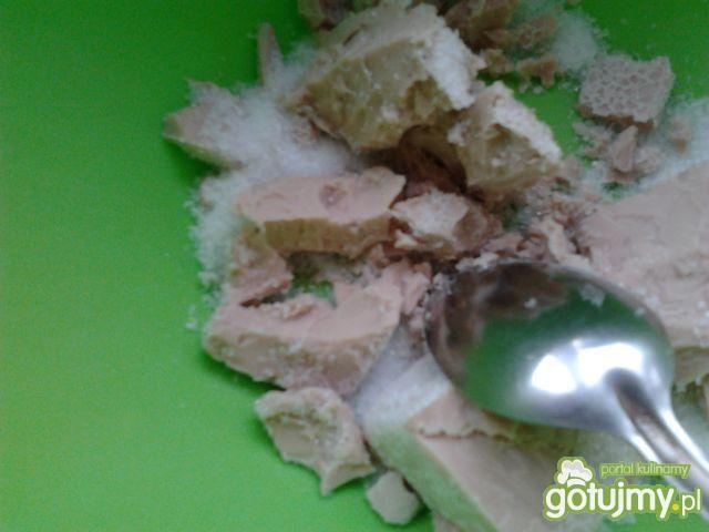 Racuchy z mąki żytniej z budyniem