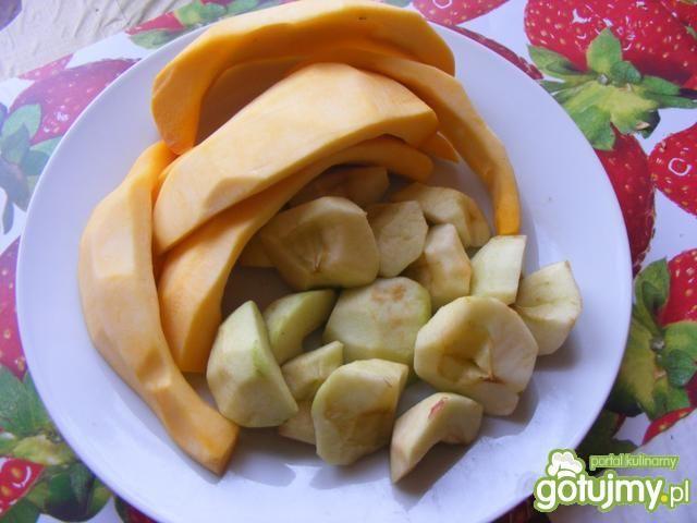 Racuszki z dynią i jabłkami
