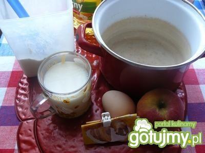 Racuszki z jabłkami wg sylwioslawy