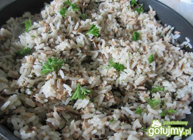 Riso Tonnato czyli rybny ryż