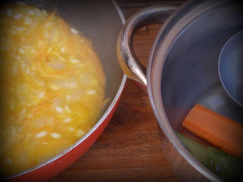 Risotto marchewkowe z pomarańczą