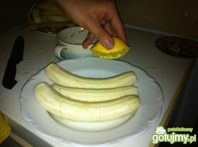 Rolada z bananami