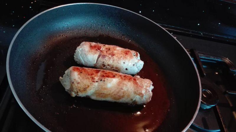 Rolada z kurczaka w folii