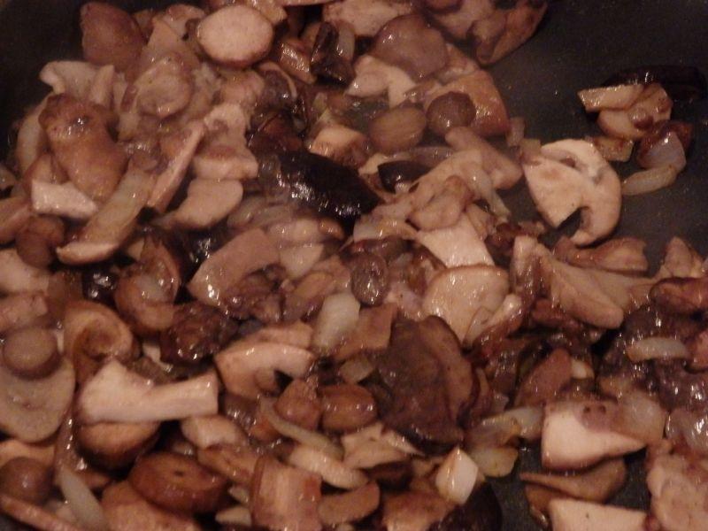 Roladki z kakrówki z grzybami