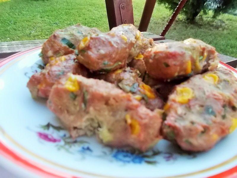 Ruloniki z grilla na mięsie mielonym