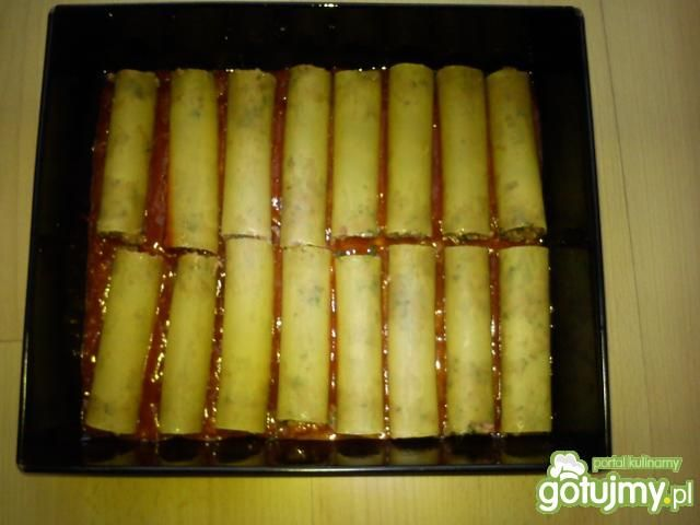 Rurki Cannelloni z mięsem