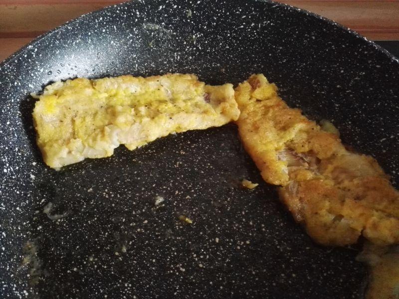 Ryba z kopytkami w sosie grzybowym