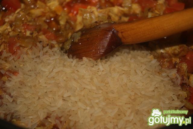 Ryż a'la pilaw z indykiem
