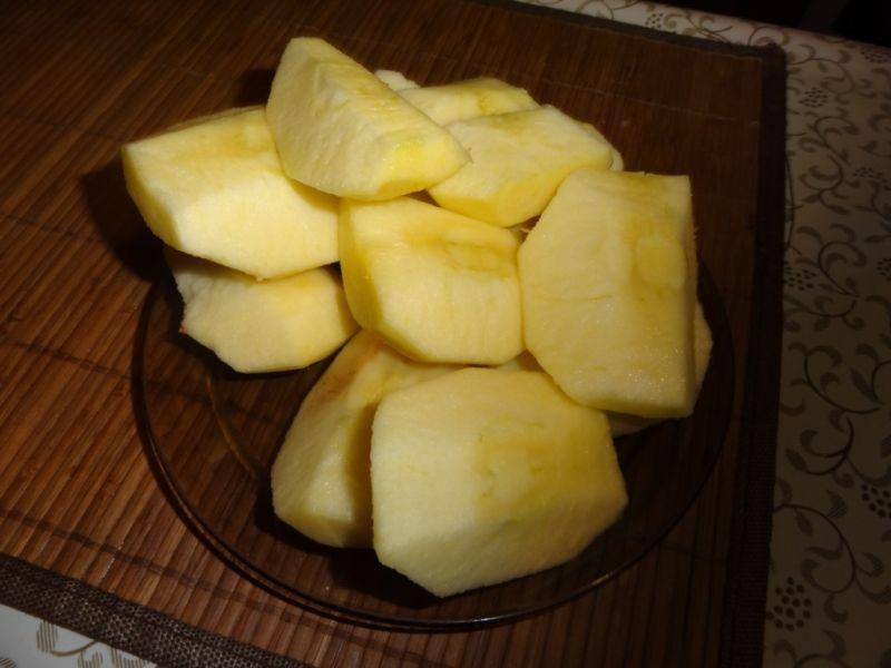 Ryż z jabłkami na słodko