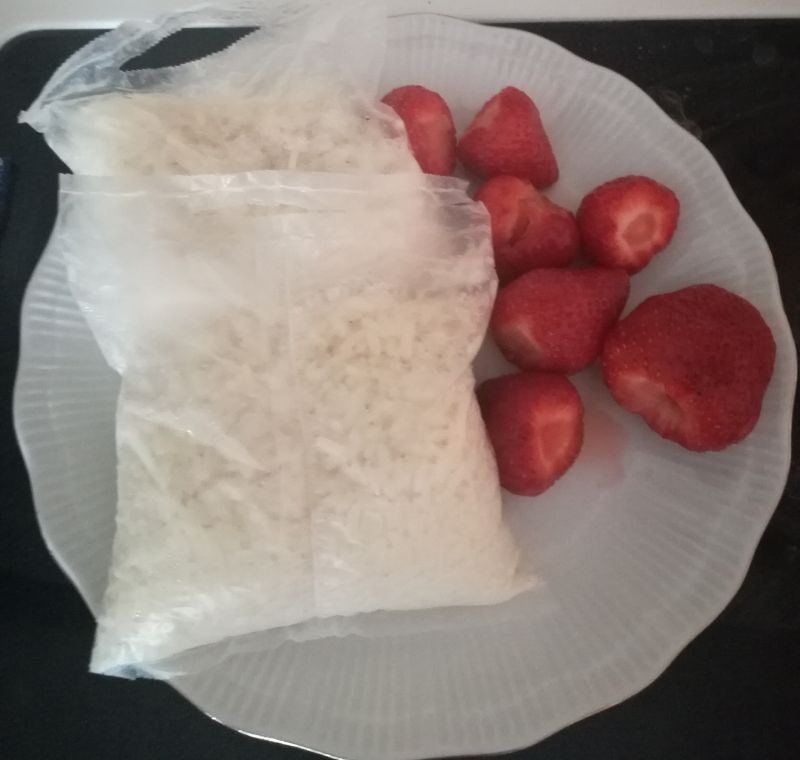 Ryż z owocami