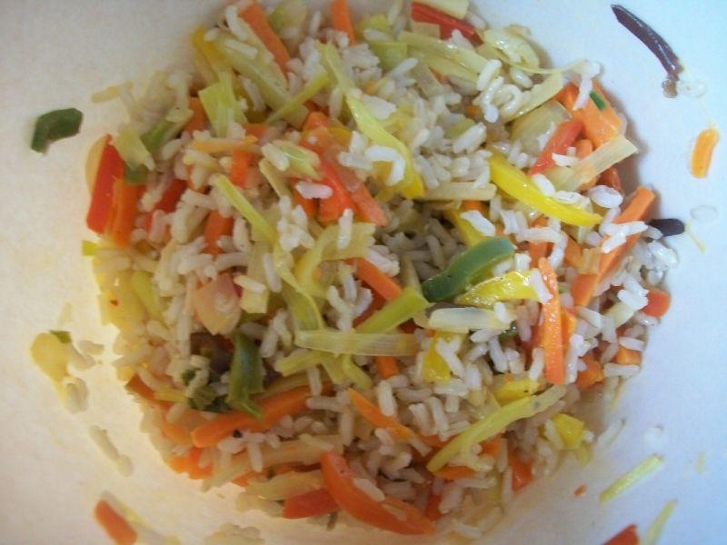 Sajgonki z brązowym ryżem