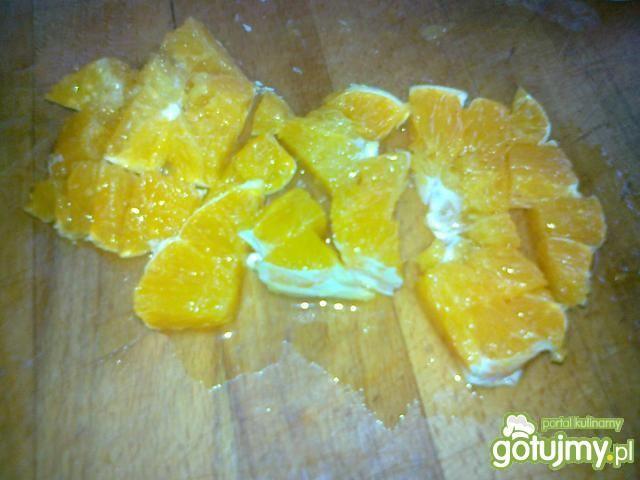 Sałata pekińska z pomarańczą