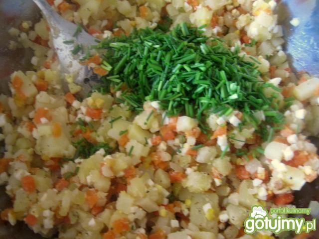 Sałatka kartoflana ze szczypiorkiem