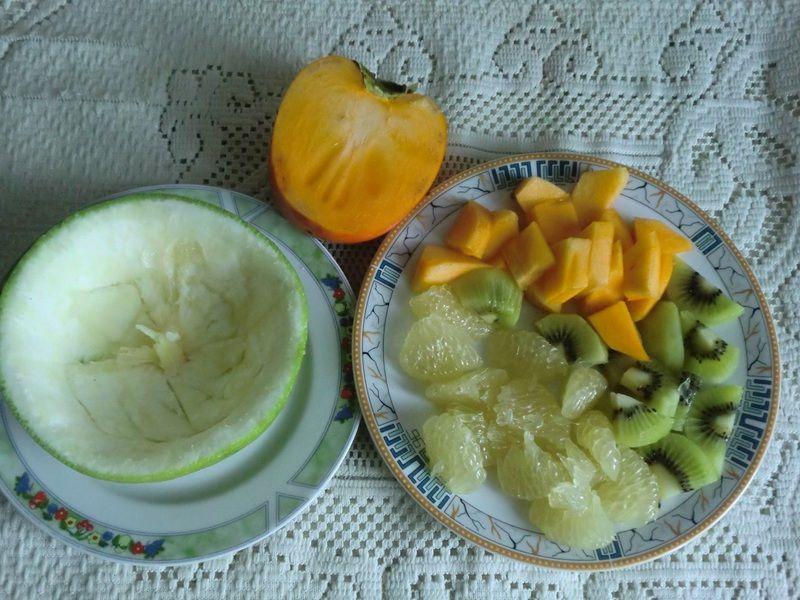 Sałatka owocowa z kaki