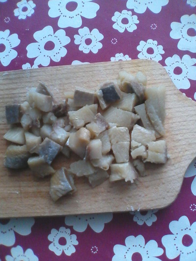 Sałatka ryżowa z matiasem