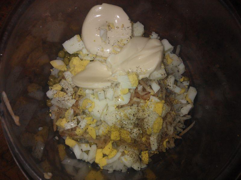 Sałatka ryżowa z warzywami