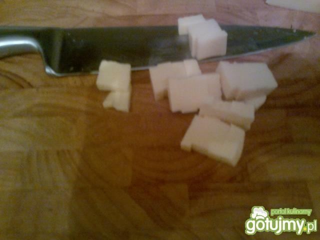 Sałatka z 4 formaggi z łososiem ala gino