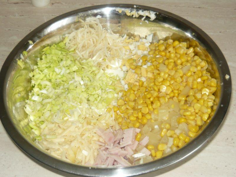Sałatka z ananasa i selera