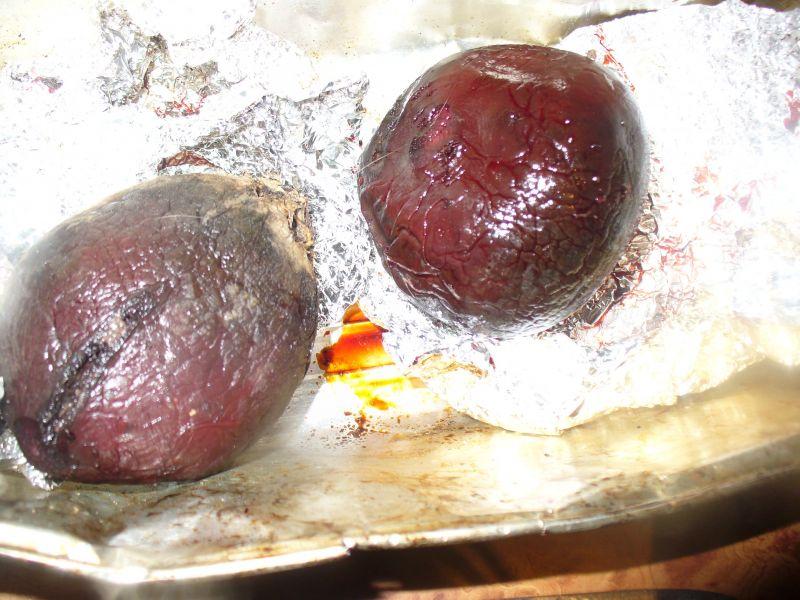 Sałatka z botwinką i buraczkiem pieczonym