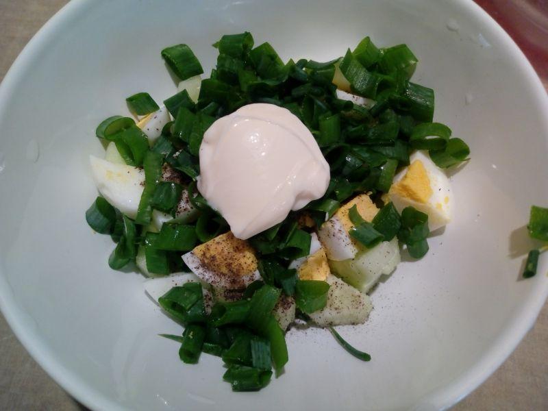 Sałatka z jajkiem