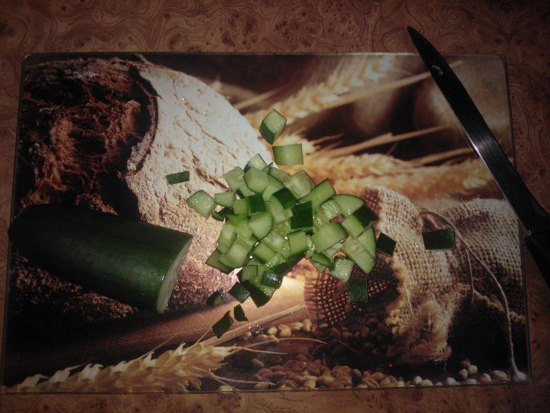 Sałatka z kaszą kuskus