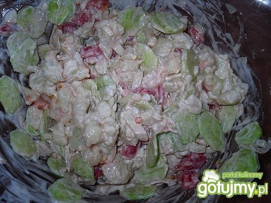 Sałatka z letnich warzyw