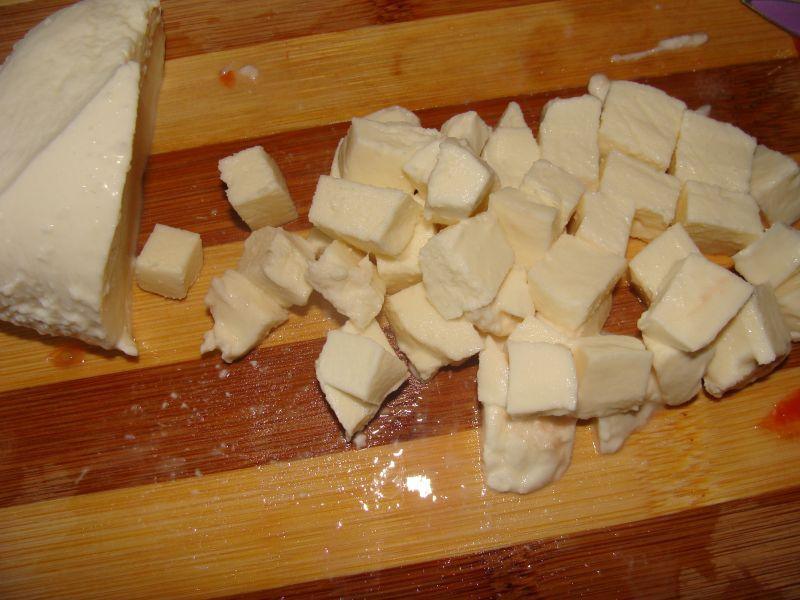 Sałatka z mozzarellą