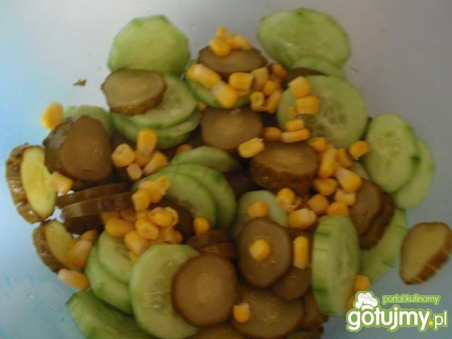 Sałatka z ogórków 3