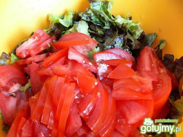 Sałatka z papryczkami filaggio