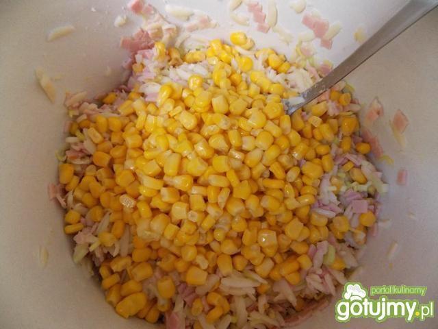 Sałatka z pieczarkami i jajkami