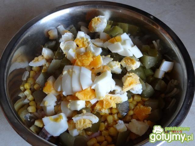 Sałatka z selerem i szynką