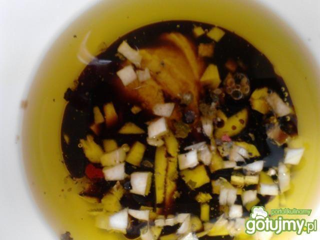 Sałatka z tuńczyka w balsamicznym sosie